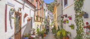 Barrio Santa Cruz bezienswaardigheid Costa Blanca