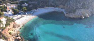 Playa del Granadella aan de Costa Blanca