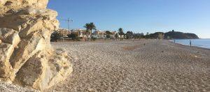 Playa el Paraiso aan de Costa Blanca